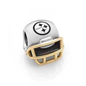 steelers pandora bead
